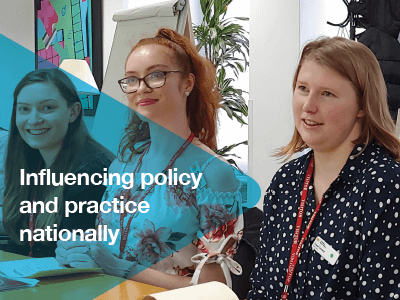 We'll work with autistic young people and their families to improve their access to excellent education, quality health support, and fulfilling careers.