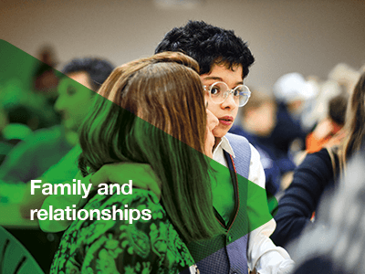 Being connected to others is vital. We will provide peer networks and information tailored to autistic children and young people, and their families.