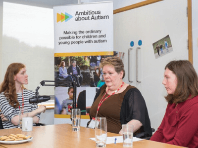 Anne Hegerty visits TreeHouse School