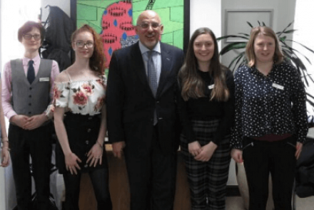 Ambitious About Autism Youth Council with Nadhim Zahawi